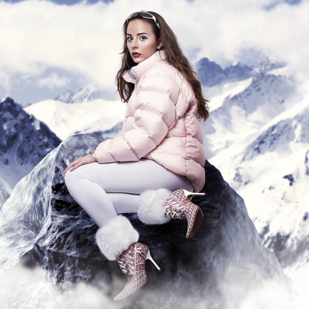 """Hannah Diamond shares new Christmas single """"Make Believe,"""" 'Reflections' EP due out in 2017"""