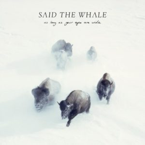 Said The Whale announce new album 'As Long As Your Eyes Are Wide,' out March 31 via Hidden Pony