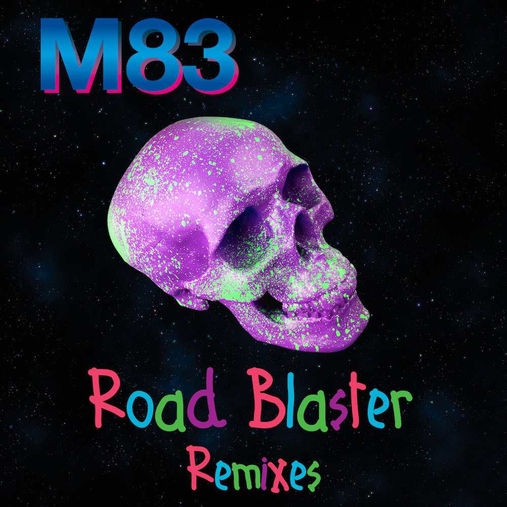 """M83 Releases """"Road Blaster"""" EP. The album includes remixes by Maps, Mount, Laurer, and (Lee Van Dowski."""