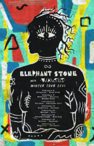 Elephant Stone announce winter North American tour dates, new album 'Ship of Fools' out now via Burger Records