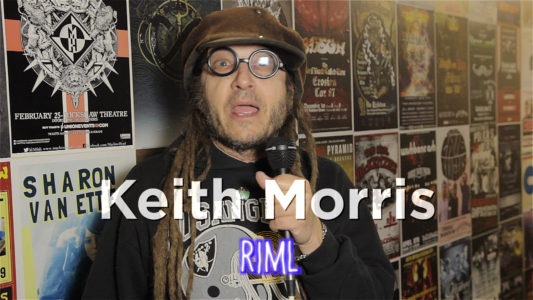 We met with lead singer Keith Morris from the band OFF!