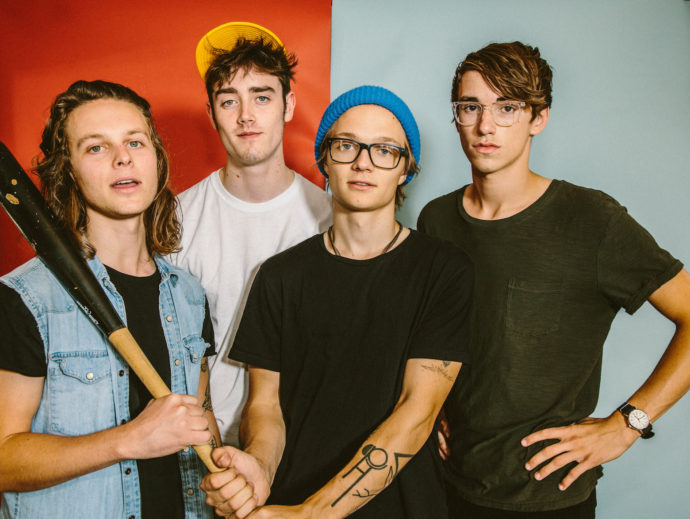 """Hippo Campus release new video for """"way it goes"""""""