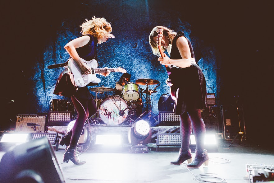"""Sleater-Kinney release """"What's Mine is Yours"""" from live in Paris."""