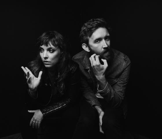 """Sylvan Esso drop video for """"Kick Jump Twist"""". The track is off their forthcoming release"""