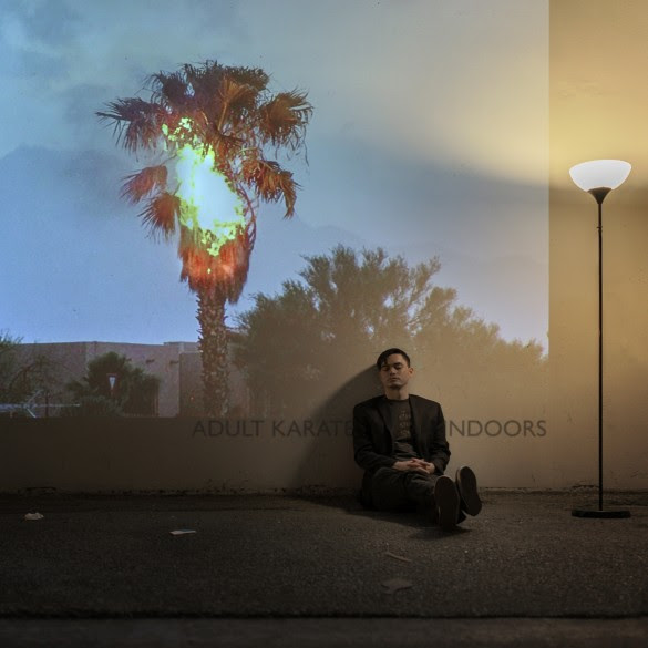 """Adult Karate announces new EP '""""ndoors"""", along with new single 'From The Dust'."""