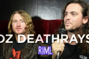DZ Deathrays guest on 'Records In My Life'