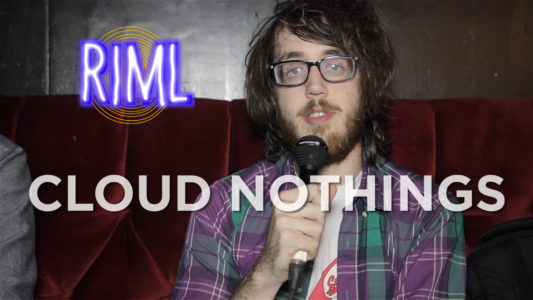 Cloud Nothings guest on 'Records In My Life'
