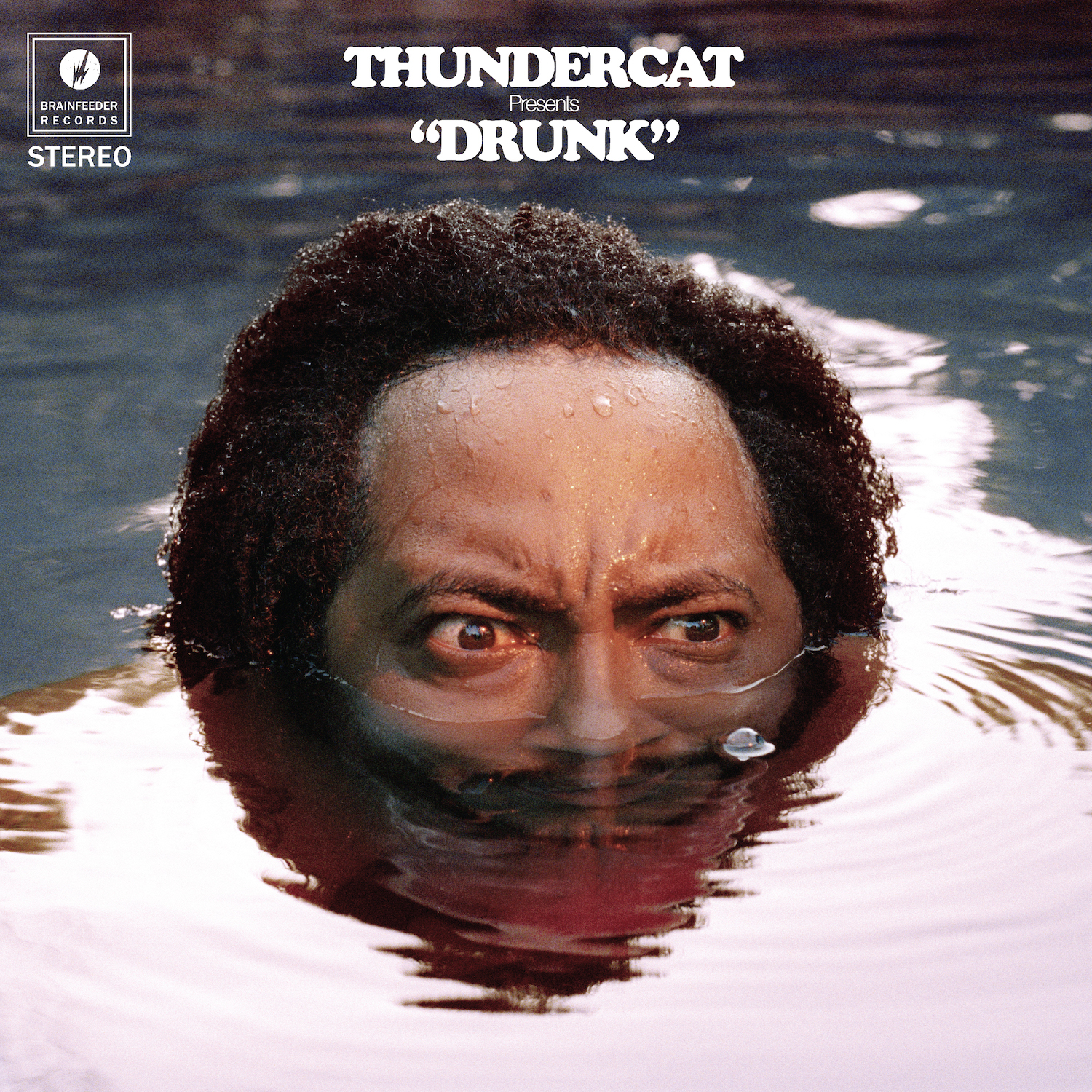 'Drunk' by Thundercat, album review by Gregory Adams. The full-length comes out on February 24th via Brainfeeder.
