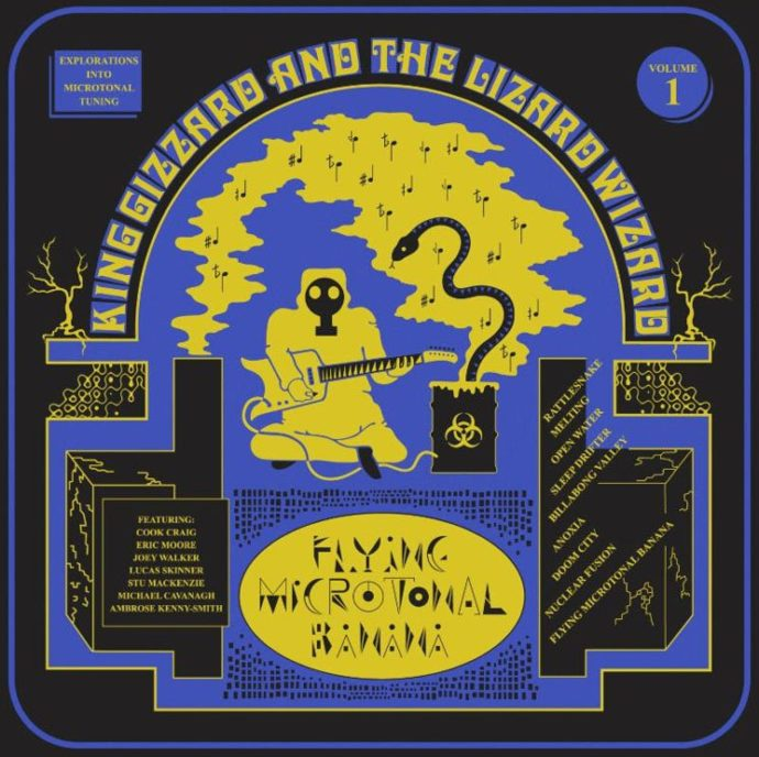 'Flying Microtonal Banana' by King Gizzard & The Lizard Wizard, album review by Adam Williams. The full-length is now out via ATO/Heavenly.