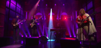 "Watch Ty Segall perform ""Break A Guitar"", off his current self-titled LP, on Seth Myers."