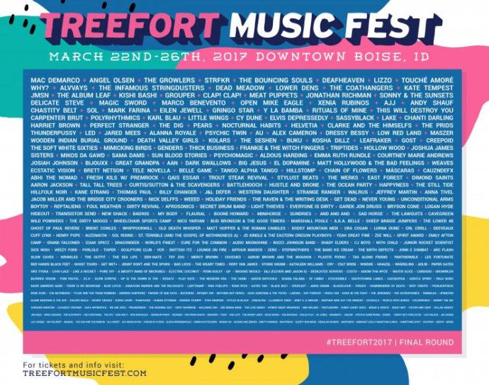 Treefort Music Fest announces final wave of artists