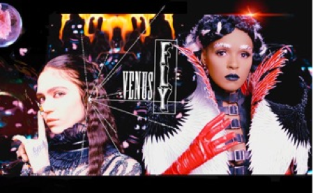 "Grimes releases new video for ""Venus Fly"", featuring Janelle Monáe."