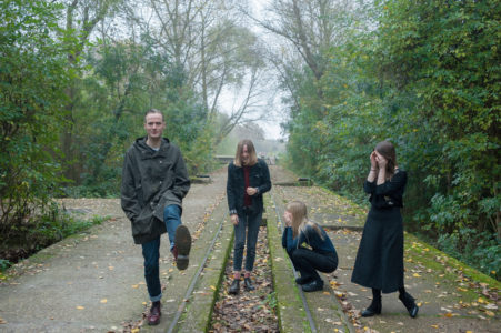 """Novella have shared their new single """"Thun"""", the track is off the quartet's forthcoming LP 'Change Of State'"""