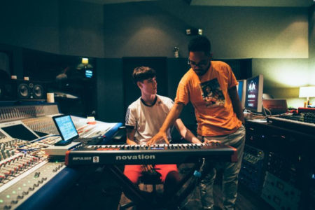"""Tennyson and Mr. Carmack collaborate on new single """"Wednesday""""."""