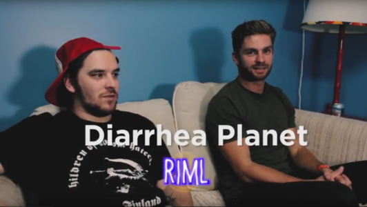 Diarrhea Planet guest on 'Records In My Life'