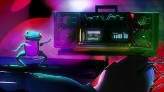 """SoftBank Arcade"" by Motion Graphics"
