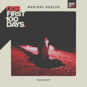 """Marissa Nadler releases new single """"Rosemary"""". The track is off 'Our First 100 Days compilation'"""