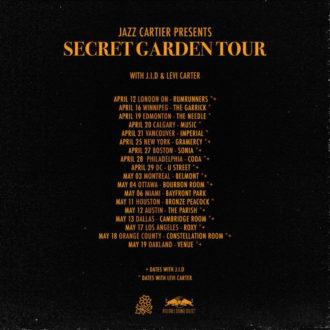 Jazz Cartier announces North American tour dates
