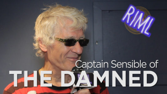 Captain Sensible of The Damned guests on 'RIML'