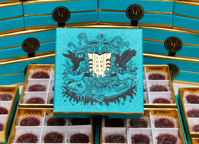 Sigur Rós have teamed up with cannabis brand Lord Jones for a limited-edition, 'Wild Sigurberry' medicated gumdrops
