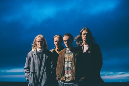"""Danish band Blaue Blume debut new track """"Macabre"""", the track was recorded in the fall of 2016 with producer Nis Bysted (Liss, Lower)."""