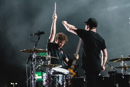"Royal Blood share a new single, ""Hook, Line, and Sinker."""