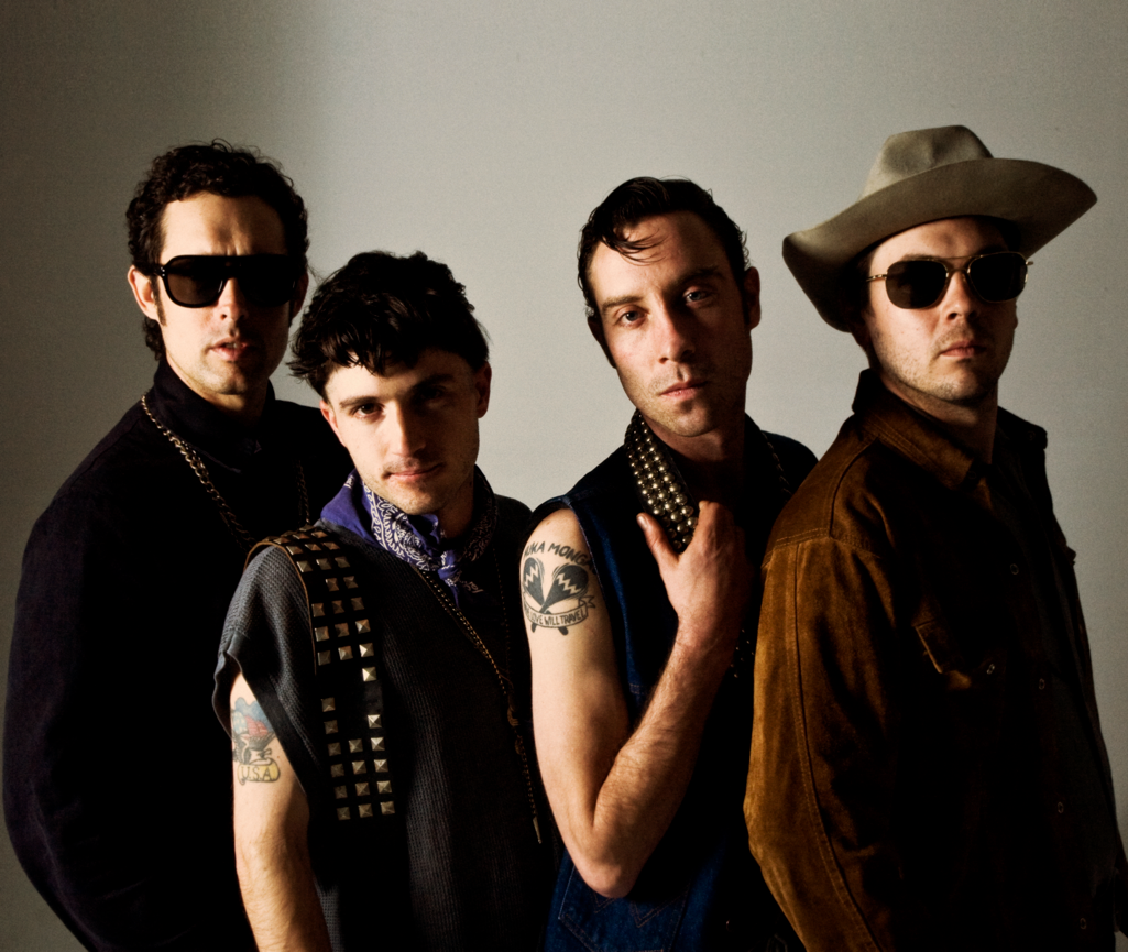 """The Black Lips have shared the video to their single """"Can't Hold On."""""""