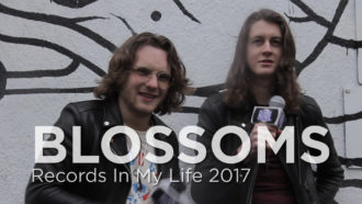 Blossoms guest on 'Records In My Life'