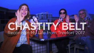 Chastity Belt guests on 'Records In My Life'