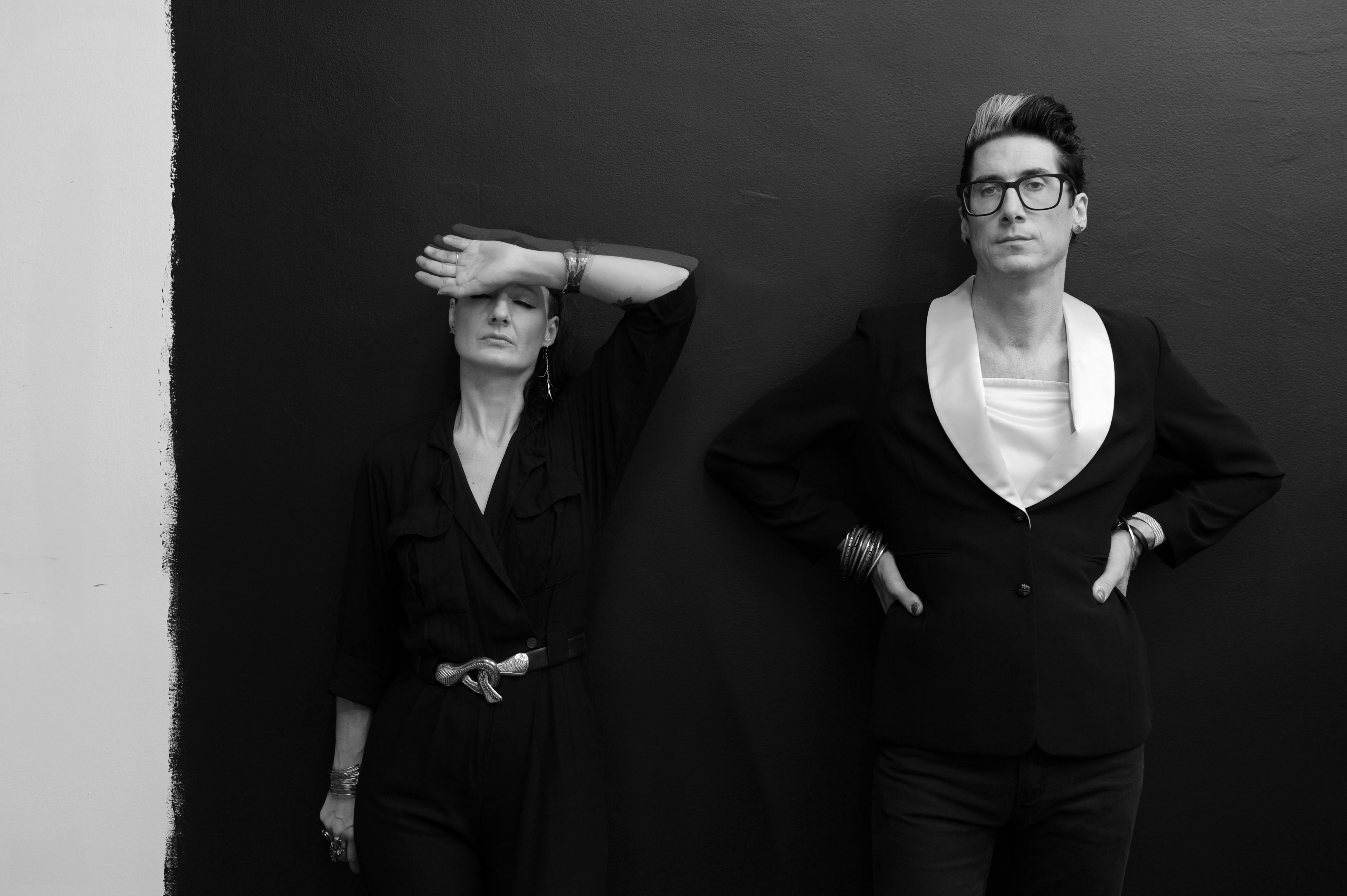 """Detroit artist duo ADULT. have shared a new music video for their single """"We Are a Mirror,"""" which was released earlier in the year via Mute."""