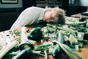 "Annabel Allum Shares Messy ""Eat Greens"" Video"