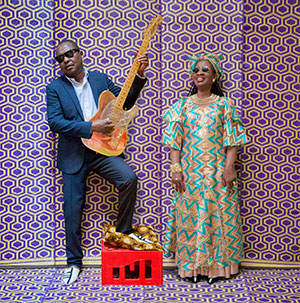"""Amadou & Mariam debut Africaine 808 Remix of """"Bofou Safou"""". The EP will be available June 9 on Because Music."""