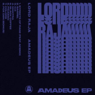 Lord Raja streams new EP 'Amadeus', ahead of it's May 19th release
