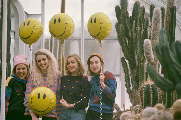 "Chastity Belt have unveiled ""5am,"" from their upcoming full-length I Used to Spend So Much Time Alone."
