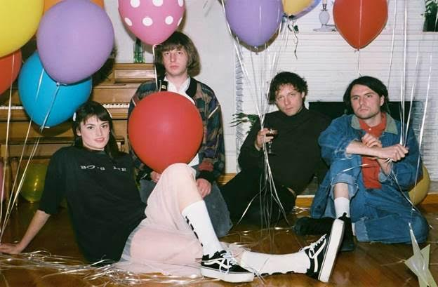 "TOPS share new single ""Dayglow Bimbo,"" the track is off their forthcoming release 'Sugar At The Gate', out June 2 on Arbutus."