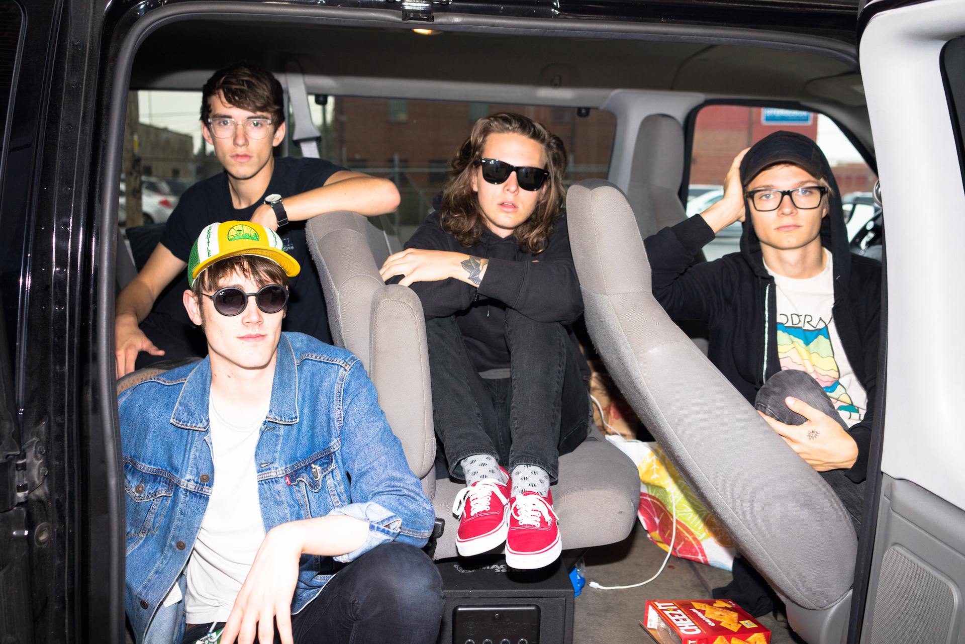 "Hippo Campus release VR video for ""western kids."""