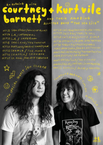 Courtney Barnett And Kurt Vile collaborate on new album and tour dates.