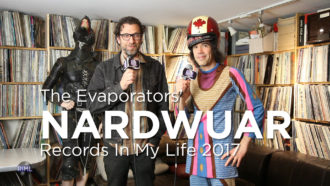 Nardwuar the Human Serviette guests on 'Records In My Life'