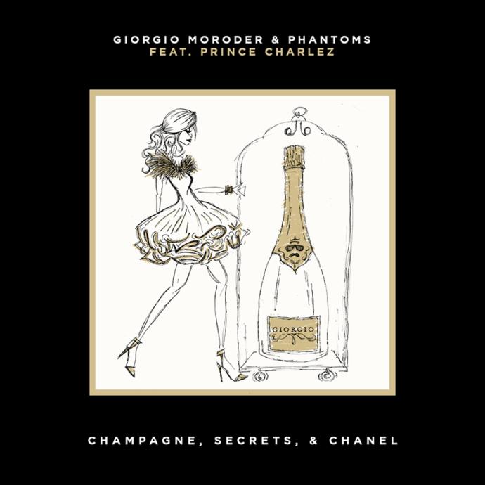 "Giorgio Moroder and Phantoms team up for new track, ""Champagne, Secrets, & Chanel"""