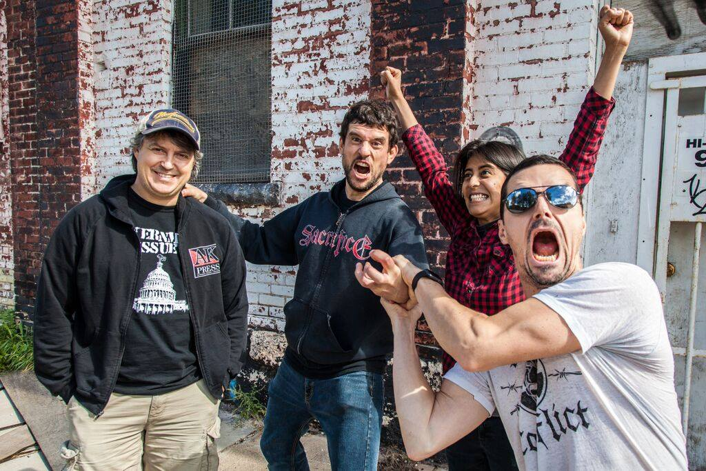 Propagandhi announce North American live dates.