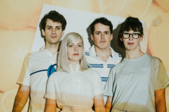 """ALVVAYS release new single """"In Dreams Tonite"""". The track is off their new LP 'Antisocialites', out September 8th. ALVVAYS play August 5th in Chicago, ILL."""