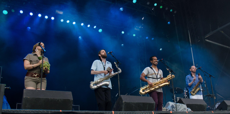 The Souljazz Orchestra by Danyca MacDonald, RBC Ottawa Bluesfest 2017, July 16