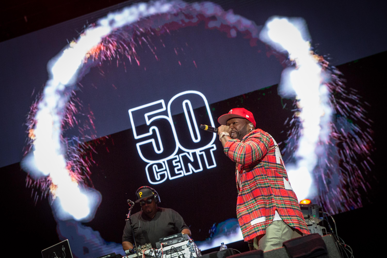 50 Cent by Mark Horton @ RBC Ottawa Bluesfest 2017 July 8