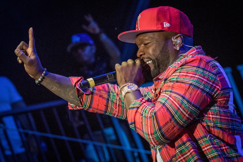 50 Cent by Mark Horton @ RBC Ottawa Bluesfest 2017