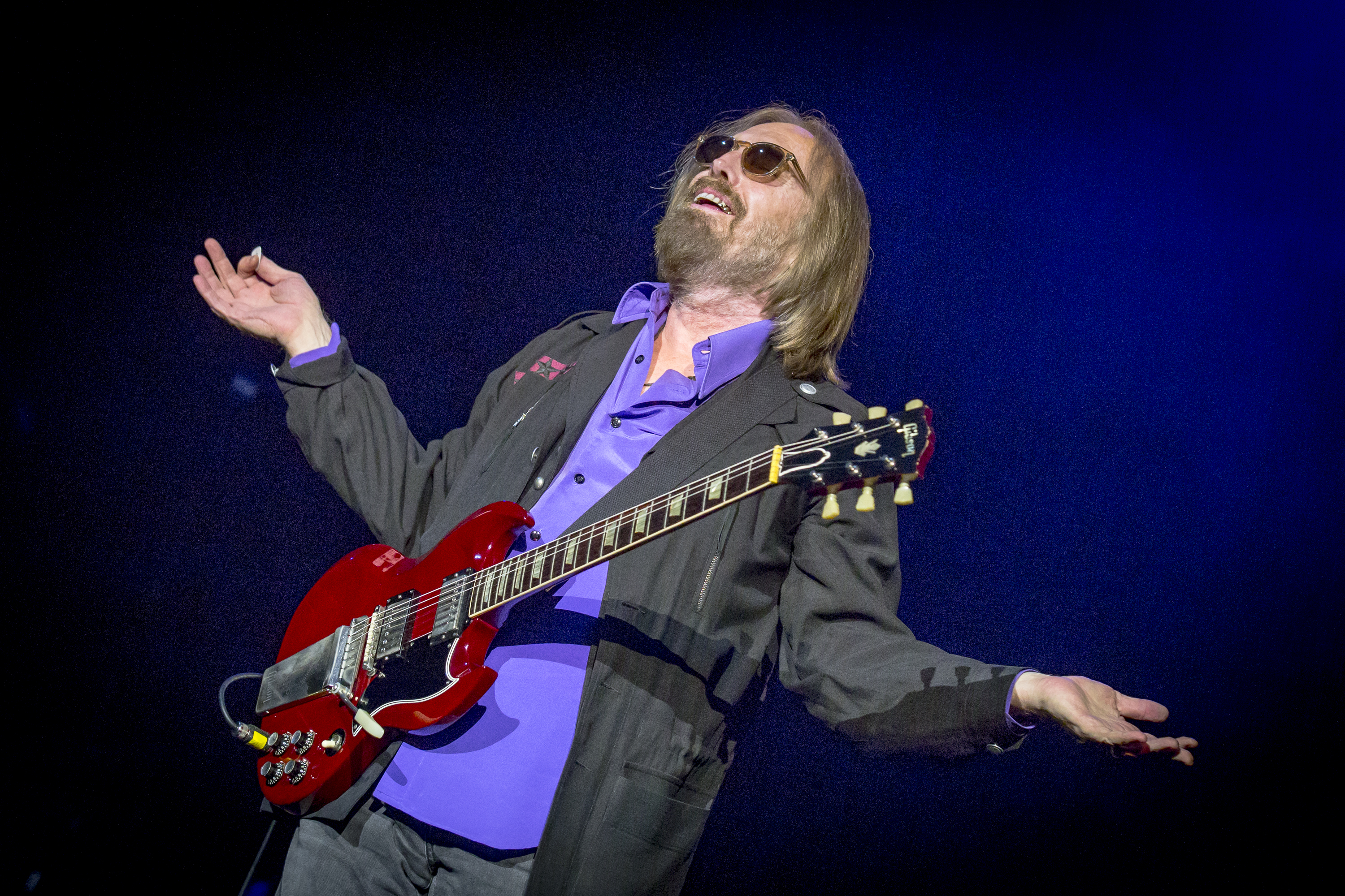 Tom Petty performs at the RBC Bluesfest in Ottawa on Sunday, July 16, 2017. The RBC Bluesfest is ranked by Billboard as one of the most successful music events in North America. ~ RBC Bluesfest Press Images  PHOTO/Mark Horton