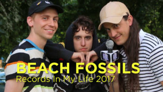 Beach Fossils recently guested on 'Records In My Life'.