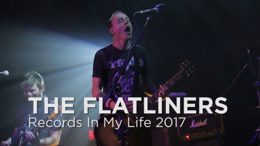 Flatliners guest on 'Records In My Life'