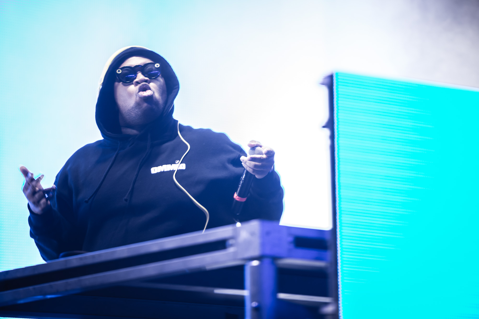DJ Mustard seen here performing at the RBC Bluesfest in Ottawa on Friday, July 7, 2017. The RBC Bluesfest is ranked by Billboard as one of the most successful music events in North America.   ~ RBC Bluesfest Press Images PHOTO/Scott Penner