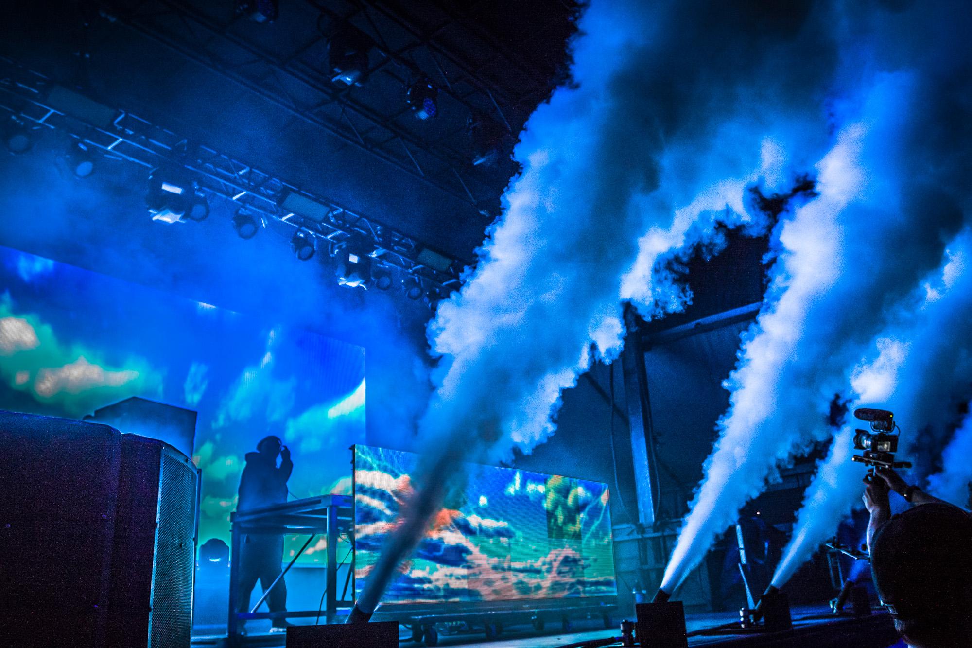 DJ Mustard smoke Cannons by Scott Penner @ RBC Ottawa Bluesfest