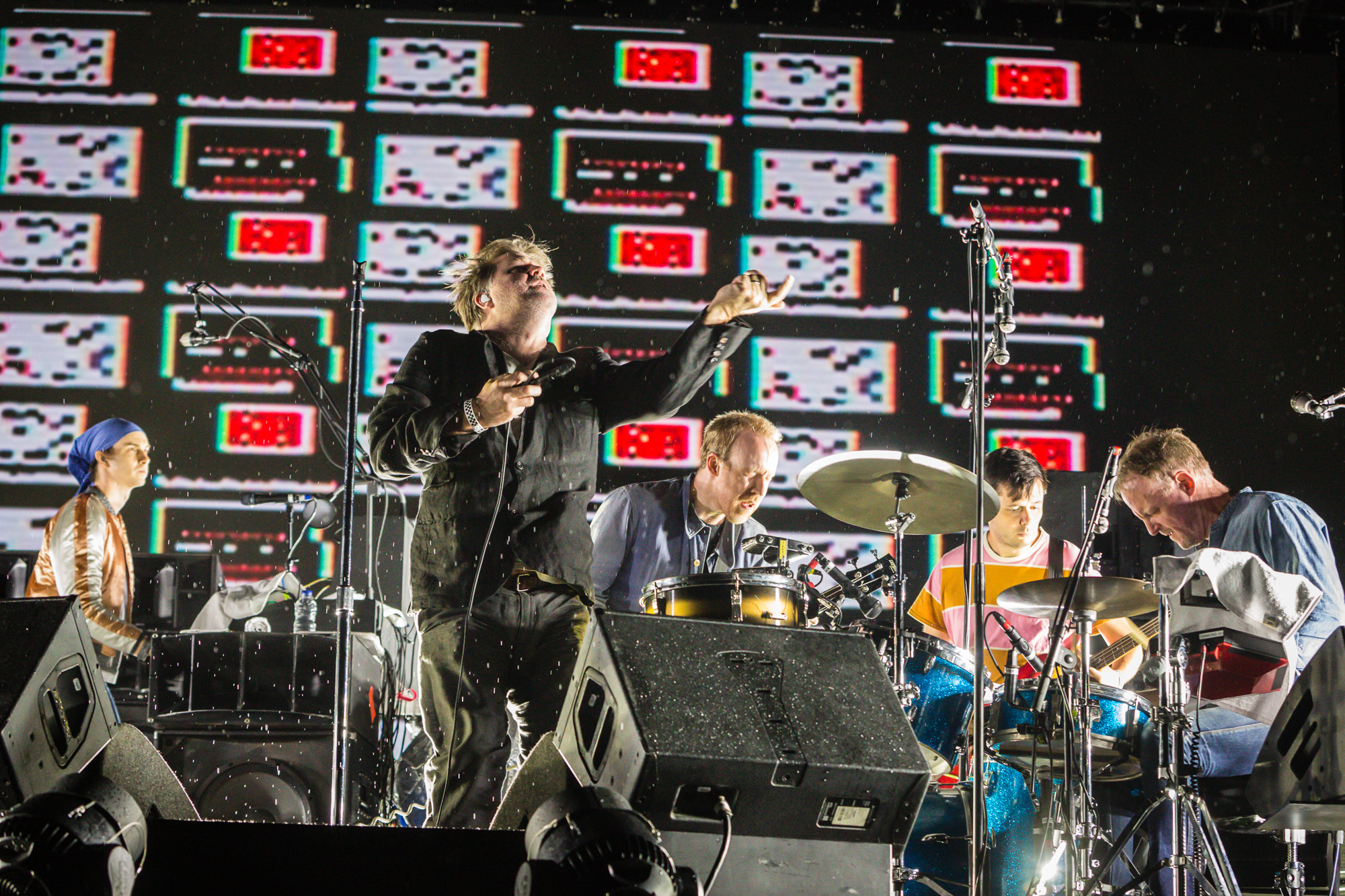 LCD Soundsystem is seen here performing at the RBC Bluesfest in Ottawa on Wednesday, July 12, 2017. The RBC Bluesfest is ranked by Billboard as one of the most successful music events in North America.   ~ RBC Bluesfest Press Images PHOTO/Scott Penner